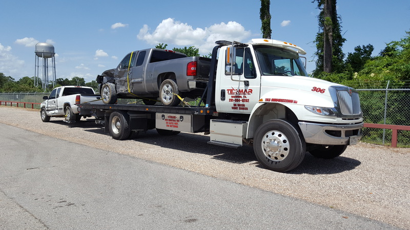 Tow Truck Houston >> Heavy Duty Wrecker Towing Services In Houston Tx Tex Mar Towing